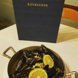 Koursaros Fishtavern Fresh Mussels With Ouzo And Lemon