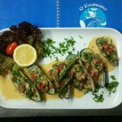 Koursaros Fishtavern Spicy Mussels