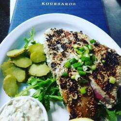 Koursaros Fishtavern Tuna Steak