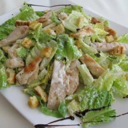 Monte Carlo Restaurant Chicken Caesar Salad