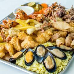 Monte Carlo Restaurant Fish Plater