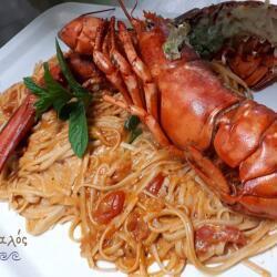Aeyialos Seafood Restaurant Crayfish Pasta