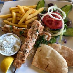 Tonys Cyprus Tavern Greek Souvlaki Plater