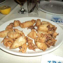Trata Fish Tavern Fresh Calamari