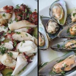 Trata Fish Tavern Sea Octabus And Mussels